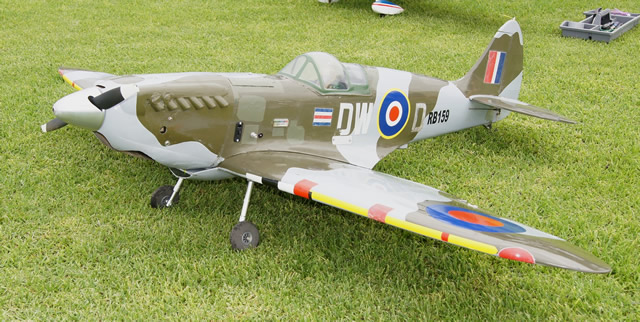 Pete Mirtschin's Spitfire